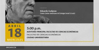 Nudos de los extractivismos: conferencia