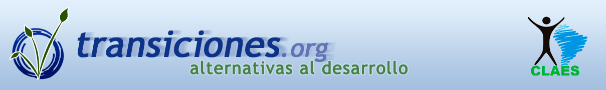 Transiciones – Alternativas al desarrollo