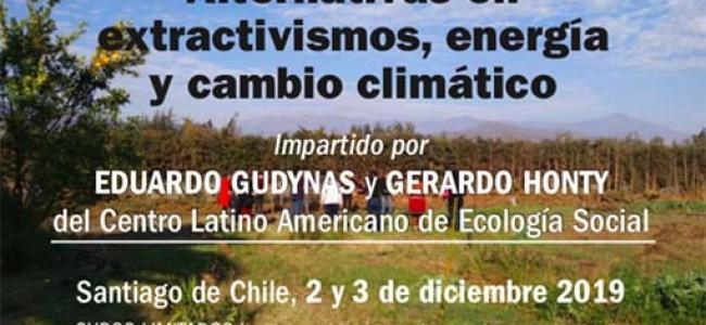Alternativas en Energía, Cambio Climático y Extractivismos